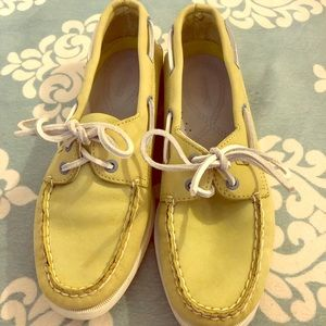 Green Sperry Shoes